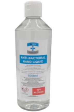 Hand Sanitiser 500ml Liquid