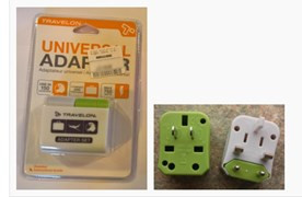 Travelon Universal Adaptor Recall