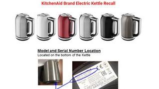 KitchenAid Kettle Product Recall
