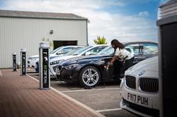 Quantum Charging BMW Office Car Park 2