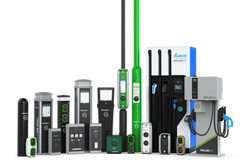 Rolec Charging Points Group Shot - with