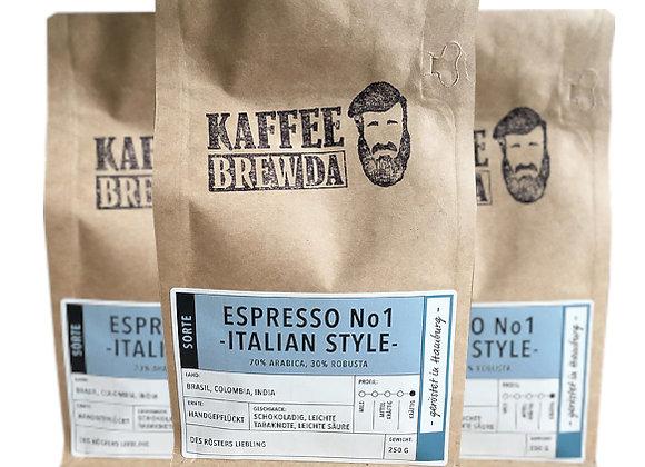 3er-Set Espresso No. 1 - Italian Style