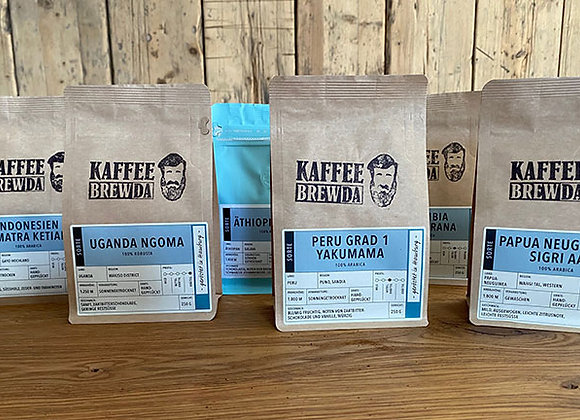Kaffee-Weltreise