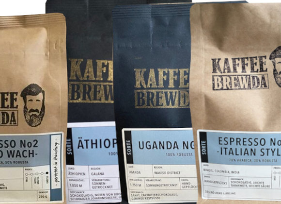 4er-Set Espresso-Weltreise
