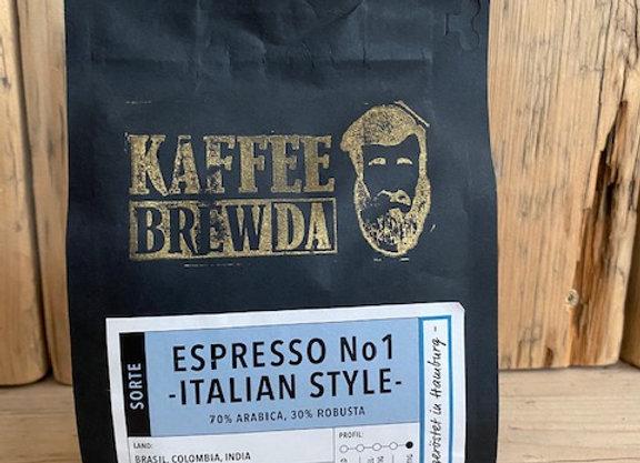 Espresso No. 1 - Italian Style