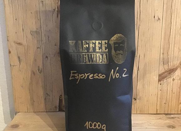 Espresso No. 2 - Hallo Wach! 1000 g
