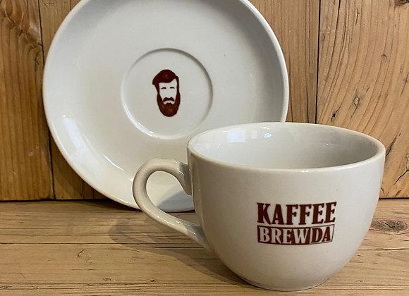 Cappuccino Tasse mit Unterteller