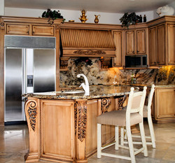 Upscale-Luxury-Kitchen-with-Marble-Countertops