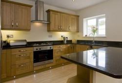 Oak with Granite Kitchen