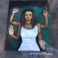 The Goddess as Black Power ver. 2