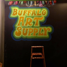 Chalkboard Commission for Buffalo Art Supply