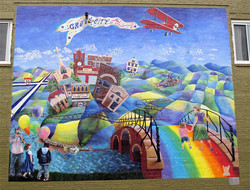Broad St. Mural - Grove City, PA