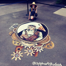 Storyland Amusement Park -- Steampunk Mother Goose