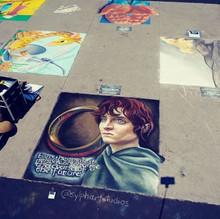 Frodo - Perry Chalk Festival