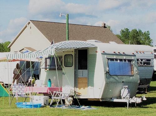 Vintage Non-Electric Campsites