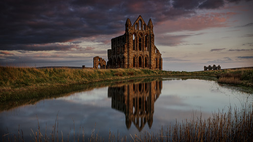 Whitby Abby Reflected