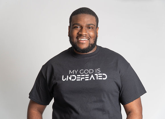 """My God Is Undefeated"" Tee"
