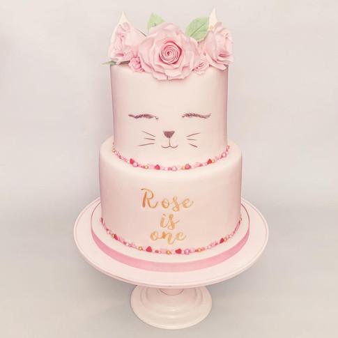 Caticorn cake