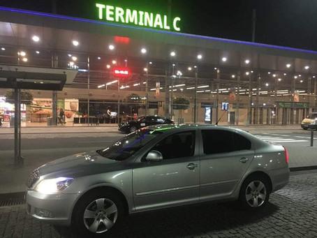 Jsme tu pro Vás ! Dnešní odvoz z letiště Katowice do Třince.