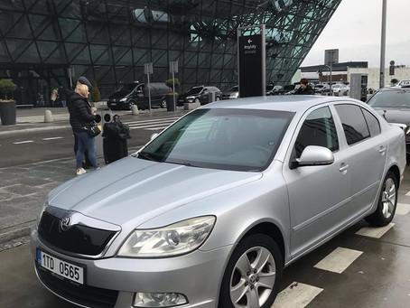Maraton pokračuje odvoz z letiště Krakow do Orlové.