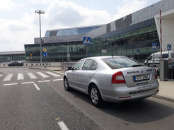 Dnešní odvoz Warszawa Airport - Bohumín.
