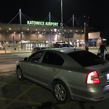 Odvoz z Orlové na letiště Katowice