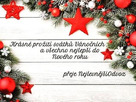 Děkujeme všem zákazníkům za přízeň a přejeme krásné Vánoce a šťastný nový rok 🙂