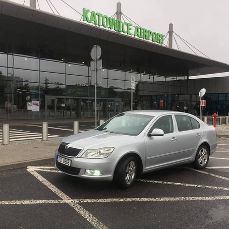 Další odvoz z Orlové do Katowic na letiště.