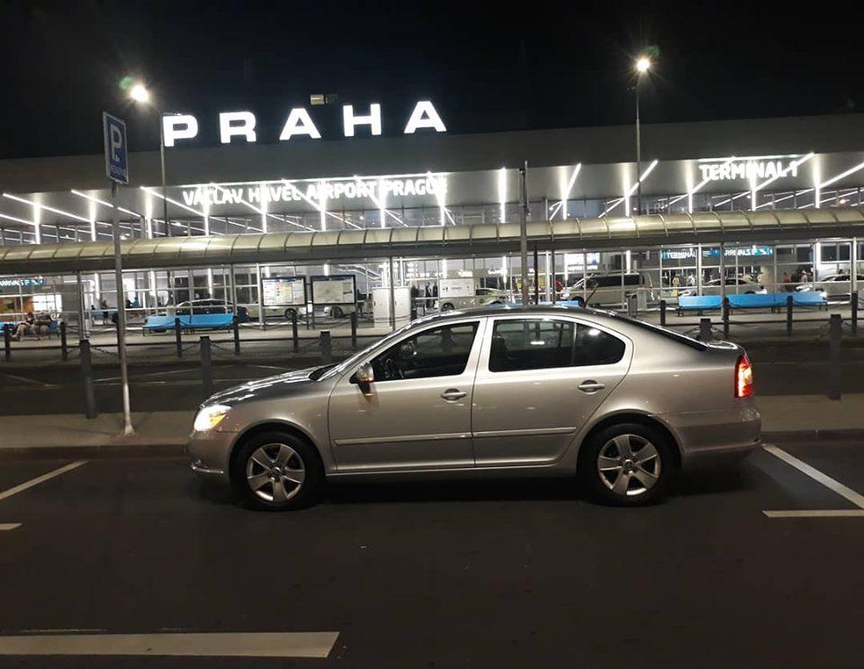 ODVOZ Z LETIŠTĚ Praha airport - Český Tě