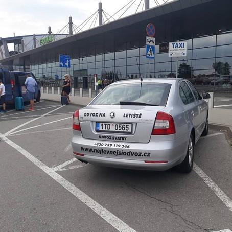Dnešní druhý odvoz na letiště Katowice z Českého Těšína.