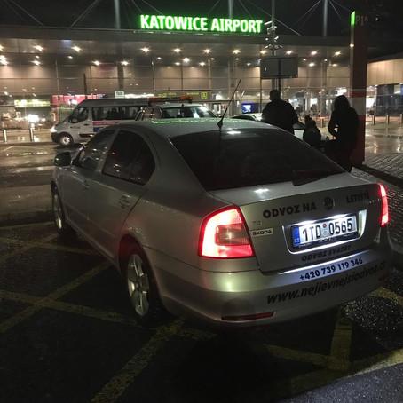 Do třetice odvoz na letiště Katowice z Orlové. Děkujeme !!