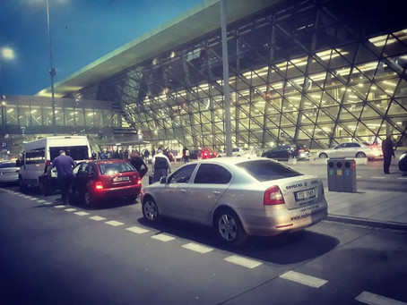 Odvoz z letiště Krakow do Orlové.