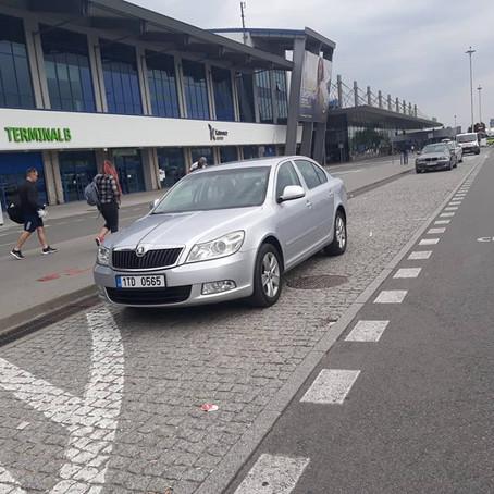 Odvoz z letiště Katowice do Petrovic u Karviné.
