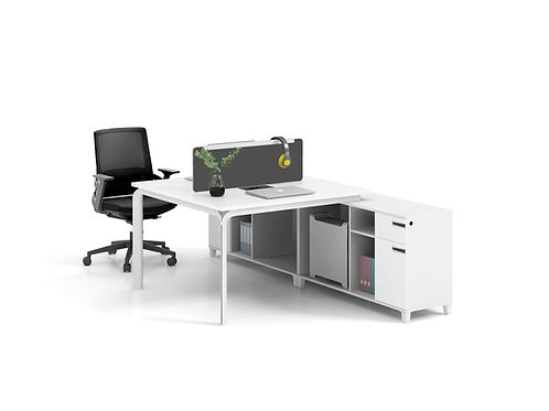 X-WH1424 2-seater Workstation