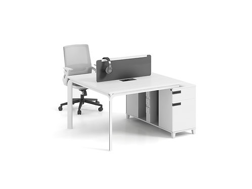 X-WD14(12)12 2-seater Workstation