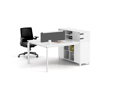 X-WD1612 2-seater Workstation