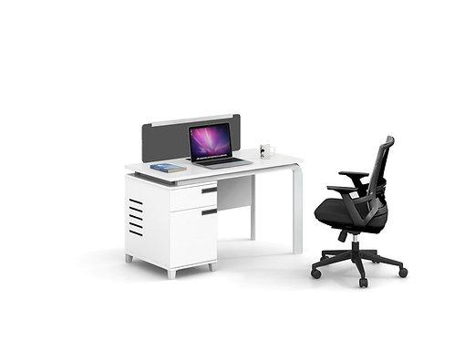 X-WM14(12)06 1-seater Workstation