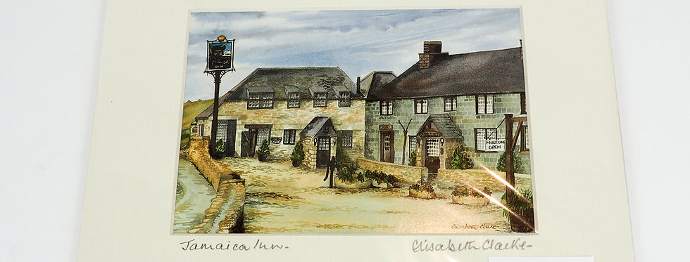 Elizabeth Clarke Signed Print