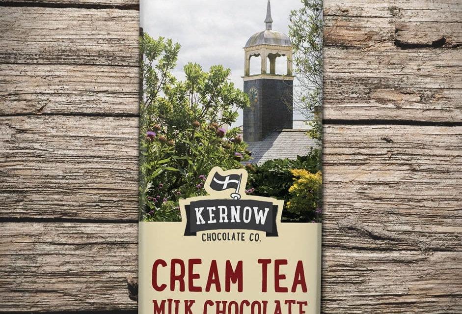 Kernow Milk Chocolate, Cream Tea