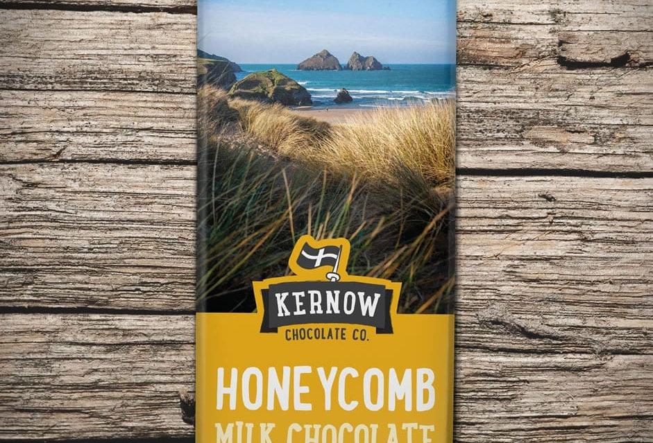 Kernow Milk Chocolate, Honeycomb