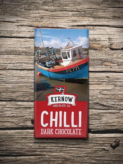 Kernow Dark Chocolate, Chilli