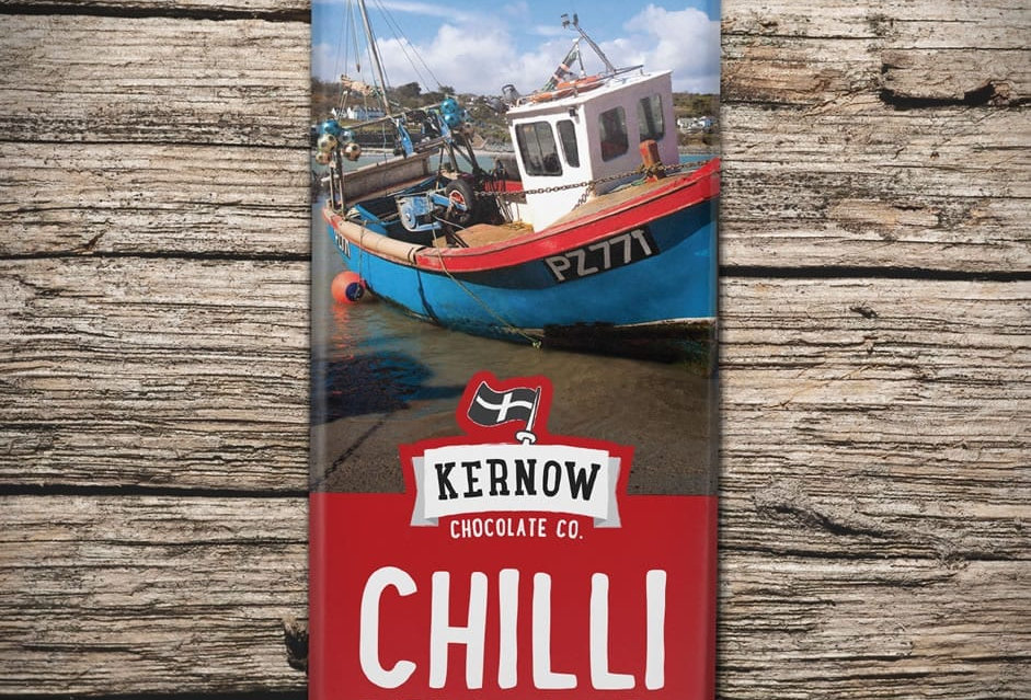 Kernow Dark Chocolate, Chilli