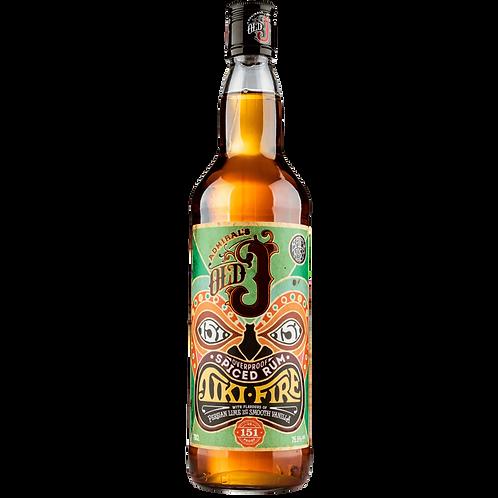 Old J Tiki Fire Spiced Rum