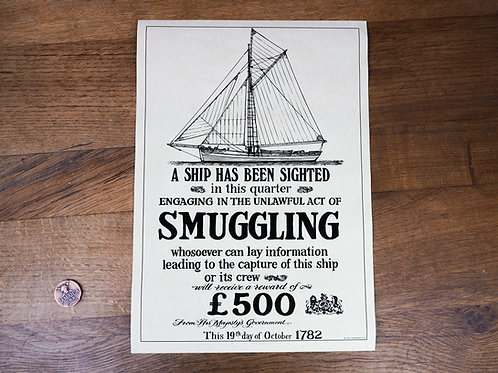 Smuggling Sighted Poster
