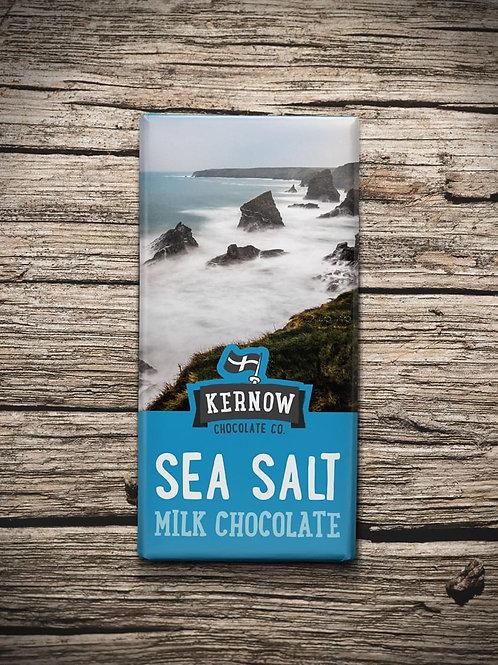 Kernow Milk Chocolate, Sea Salt