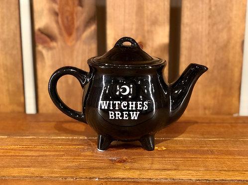 Witches Brew Cauldron Teapot