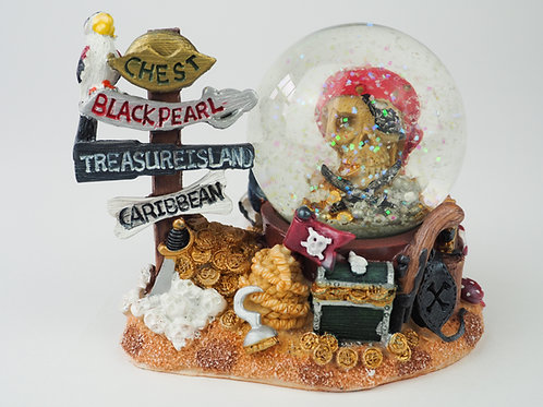 Treasure Island Snowglobe