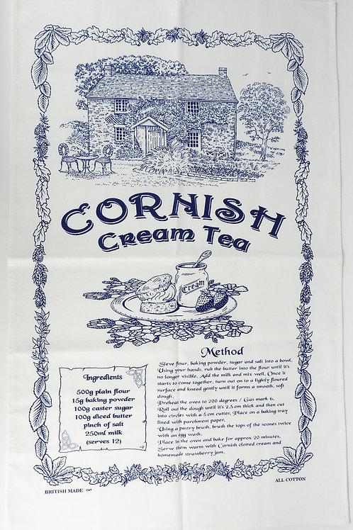 Cornish Cream Tea - Tea Towel