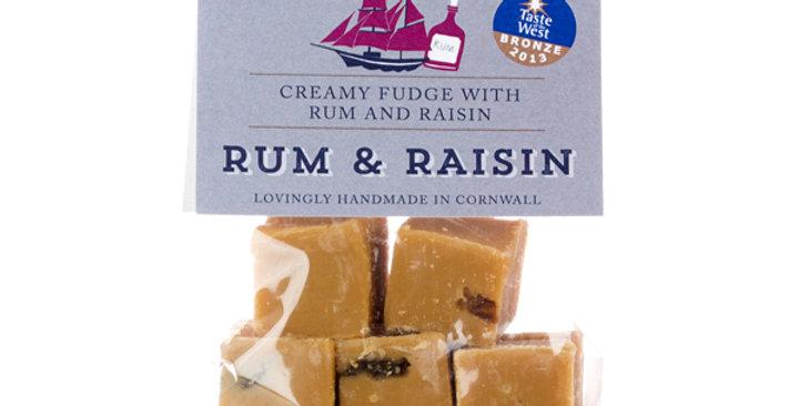 Buttermilk Rum & Raisin Fudge