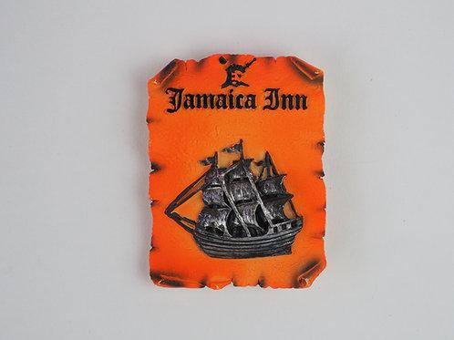 Rum Orange Ship Magnet